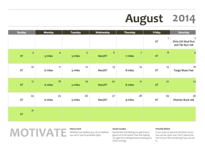 2training - august