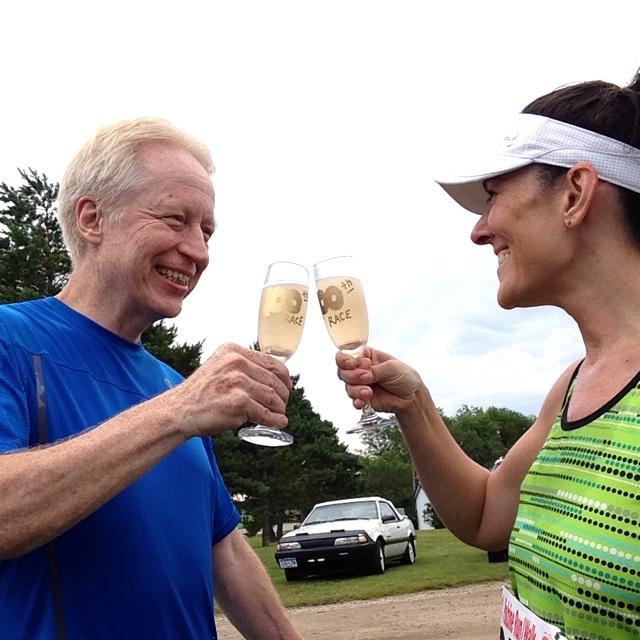 us toasting
