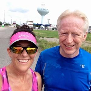 us running in fargo