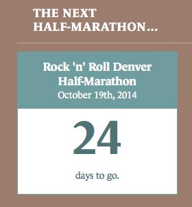 next half marathon