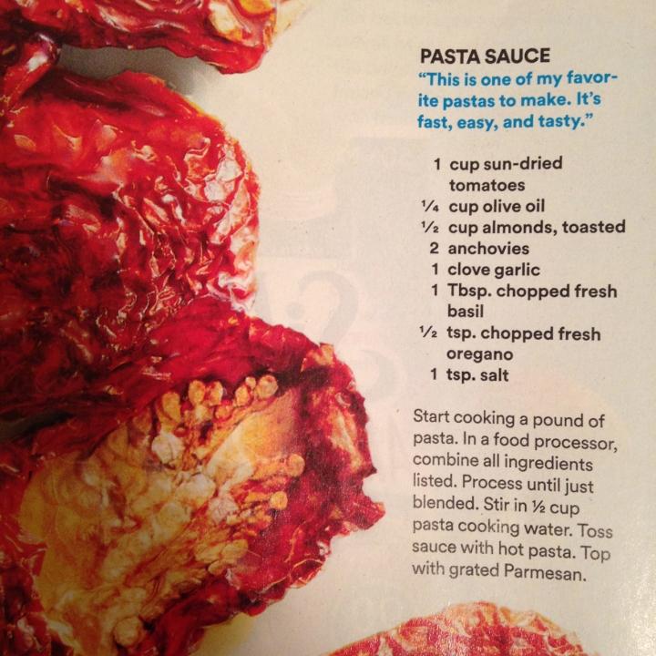pasta sauce recipe