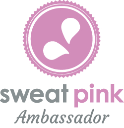 sweat pink badge