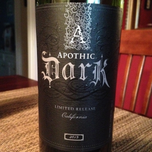 wine apothic dark