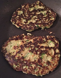 zucchini pancakes cooked