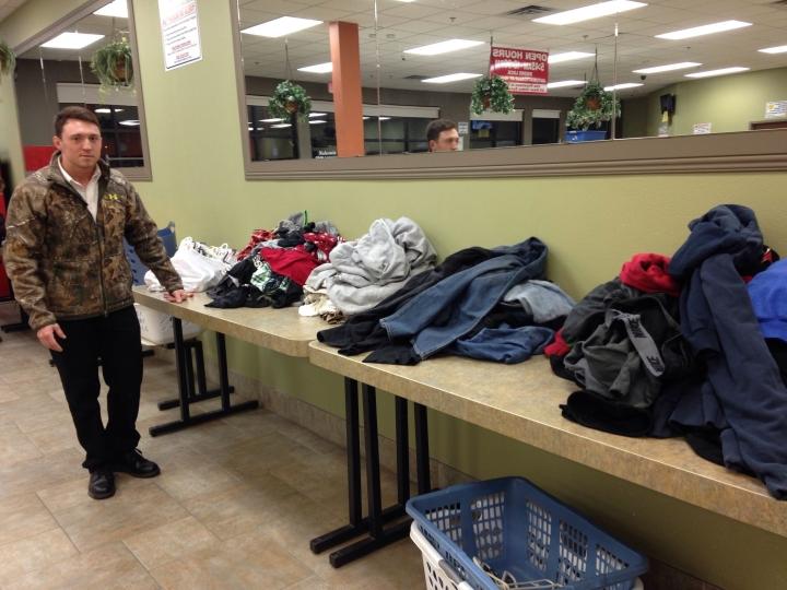 brandon at the laundromat