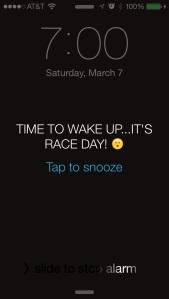 race alarm
