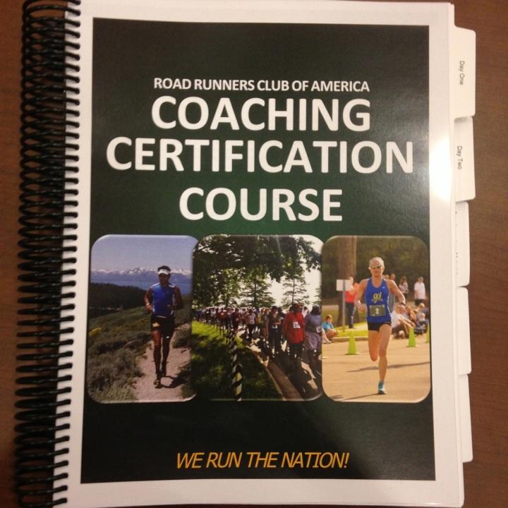 coaching certification book