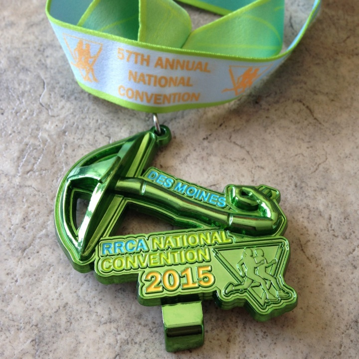 medal for sat run