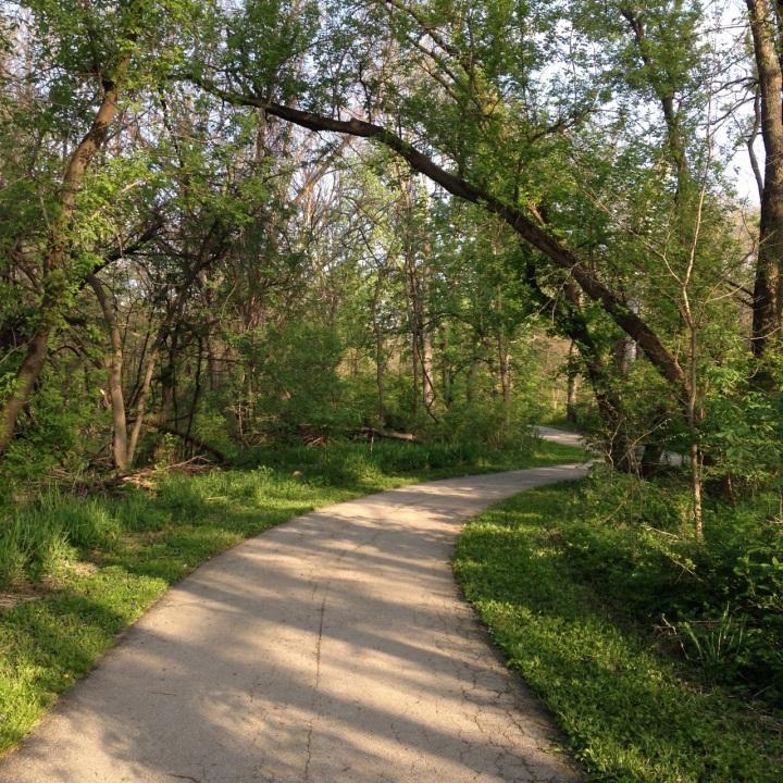 path I ran on clive greenbelt