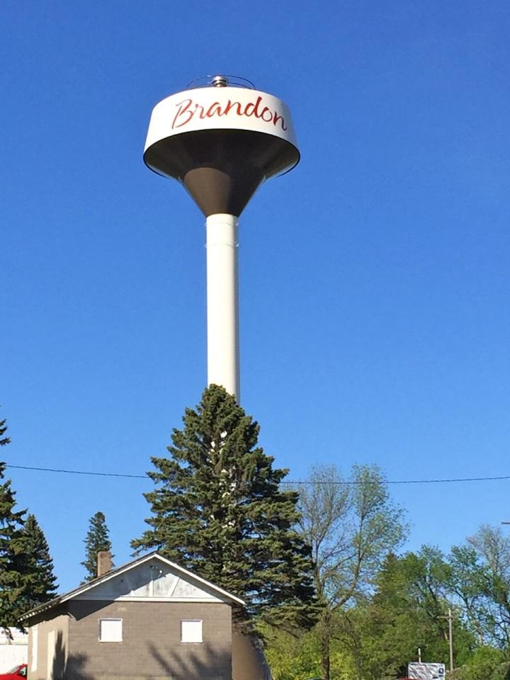 brandon water tower