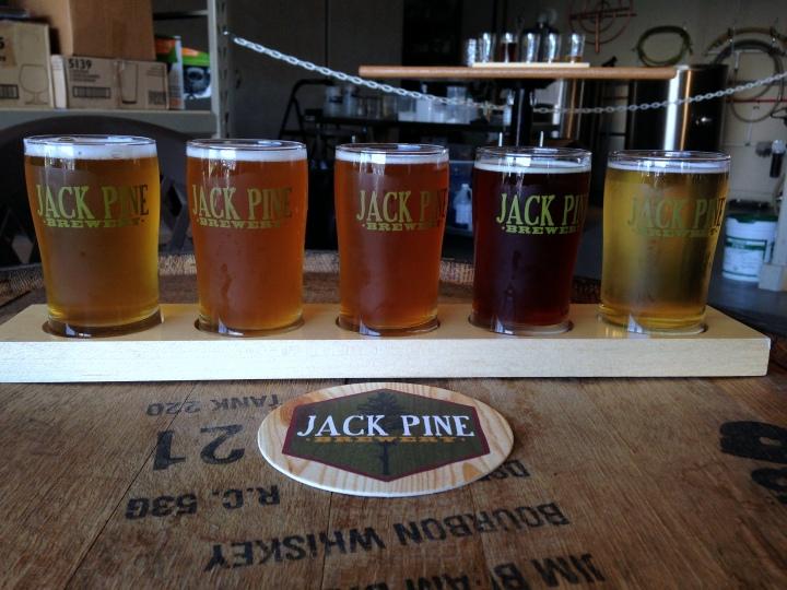 jack pine sampler