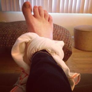 stupid foot