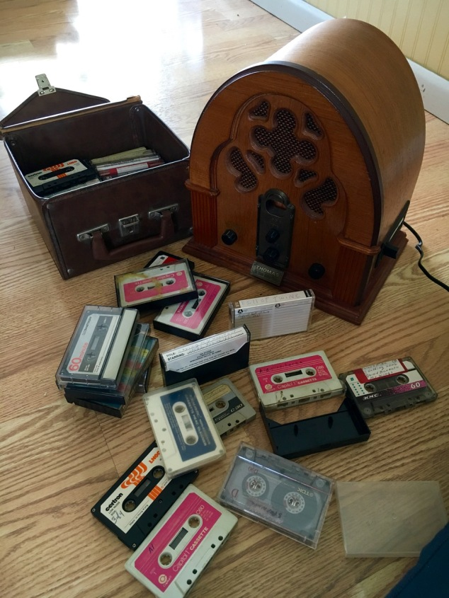 tapes and player